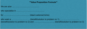 value proposition formula